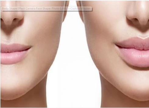 Body Shape Effect Camera Face Shape: HD Photo Edit poster