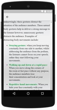 Analyze Body Language apk screenshot
