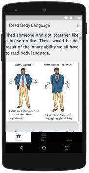 Read Body Language poster