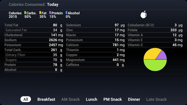 BodyMedia FIT screenshot 3