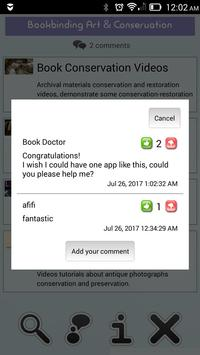 Bookbinding Art & Conservation Vid screenshot 7