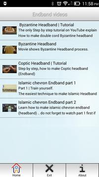 Bookbinding Art & Conservation Vid screenshot 1