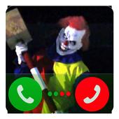 Call Clown Killer Prank icon
