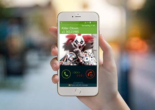Call Clown Killer Prank poster
