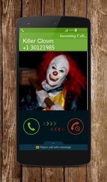 Call Clown Killer Prank screenshot 2
