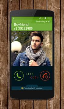 Fake Boyfriend Calling screenshot 1