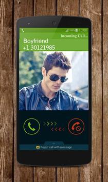 Fake Boyfriend Calling screenshot 2