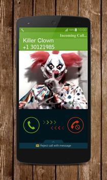 Fake Killer Clown Call screenshot 2