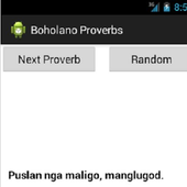 Boholano Proverbs icon