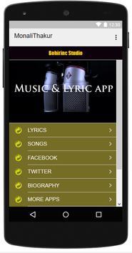 Monali Thakur - All Best Songs screenshot 3
