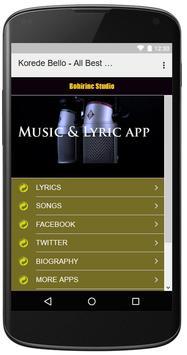 Korede Bello - All Best Songs screenshot 3