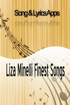Liza Minelli Finest Songs poster