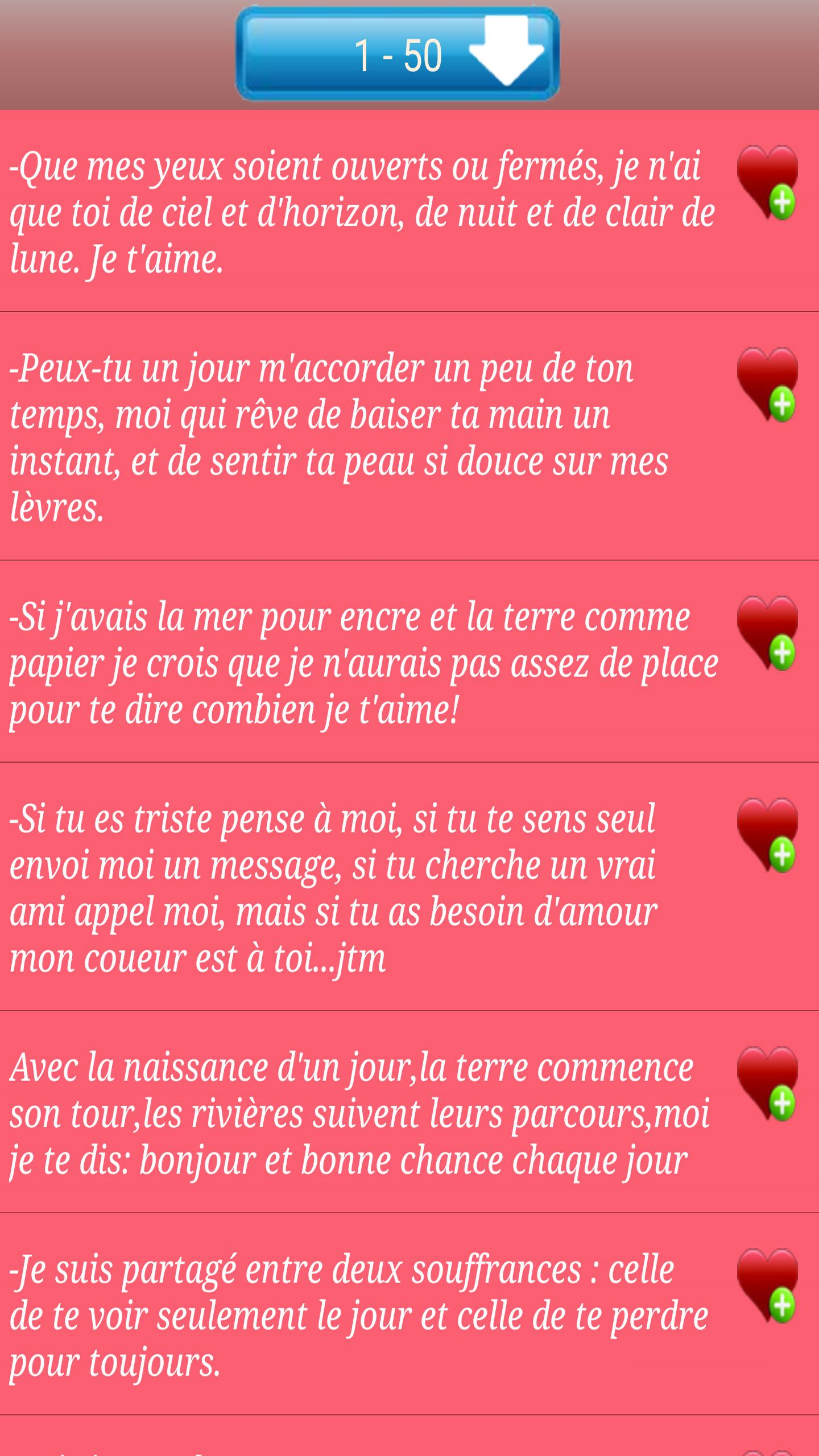 Messages D Amour Et Sms 2017 For Android Apk Download