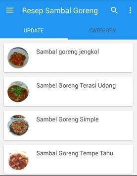 Resep Sambal Goreng screenshot 1