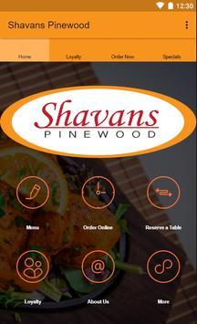 Shavans Pinewood poster