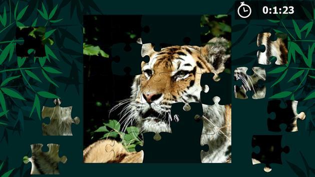 Rompecabezas de tigres apk screenshot