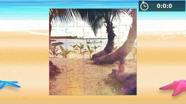 Rompecabezas de playas apk screenshot