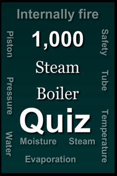 Steam Boiler Quiz poster