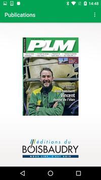 PLM Magazine poster