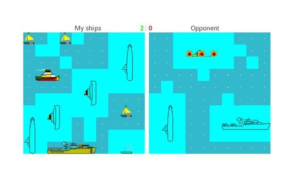 Морской Бой для андроид apk screenshot