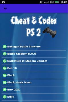 Kode Game PS2 Terlengkap poster