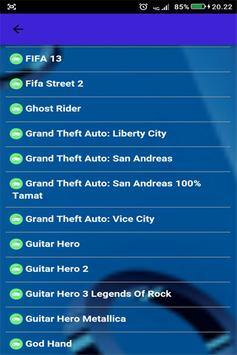 Kode Game PS2 Terlengkap screenshot 1