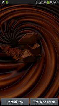 Ripple chocolate effect poster