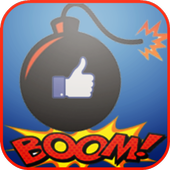 Boom-Like 💣! Get instant Free Like for Face Prank icon