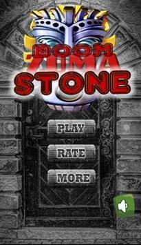 Boom Zuma Stone poster