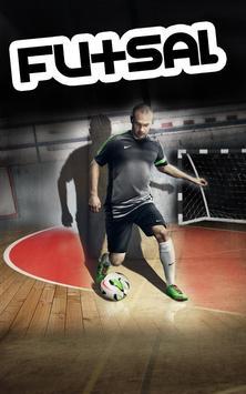 futsal game poster