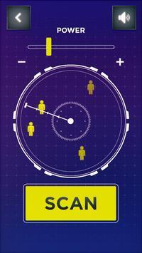 Real Radar Scanner People Simulator apk screenshot