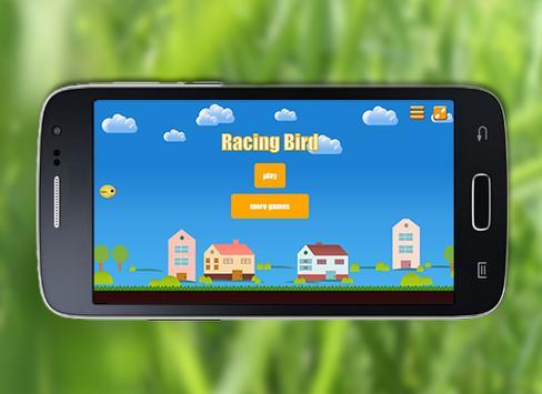 Racing Bird poster