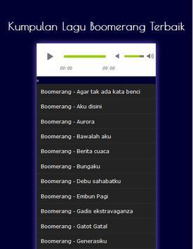 Kumpulan Lagu Boomerang Terbaik poster