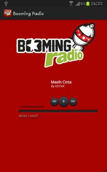 Booming Radio poster