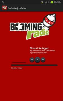 Booming Radio screenshot 1