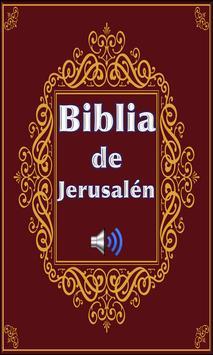Biblia de Jerusalén con Audio poster