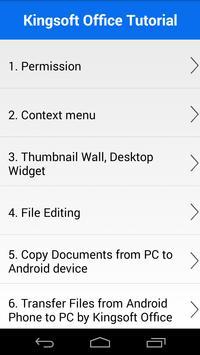 KS Office For Mobile screenshot 5
