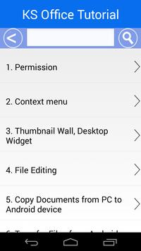 KS Office For Mobile screenshot 14