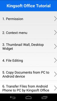KS Office For Mobile screenshot 2