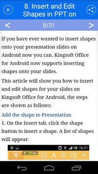 KS Office For Mobile screenshot 3
