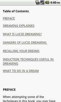 Lucid Dreaming Guide apk screenshot