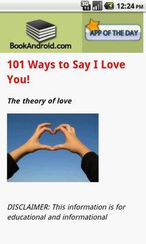 101 Ways to Say I Love You apk screenshot