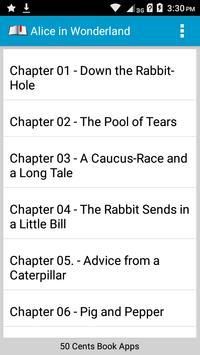 Book Apps: Alice in Wonderland poster