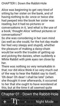 Book Apps: Alice in Wonderland screenshot 1