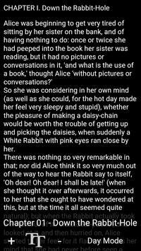Book Apps: Alice in Wonderland screenshot 2