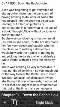 Book Apps: Alice in Wonderland screenshot 4