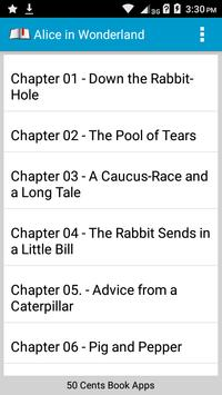Book Apps: Alice in Wonderland screenshot 6