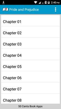 Book Apps: Pride and Prejudice screenshot 6