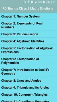 RD Sharma Class 9 Maths Solutions for Android - APK Download