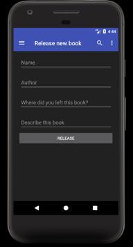Bookcrossing screenshot 2